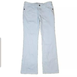 Micheal Kors White Bootcut Jeans